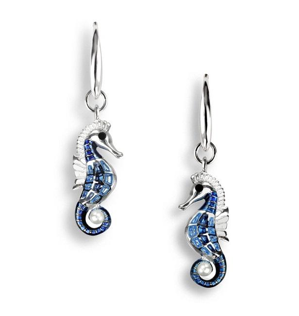 Kolczyki koniki morskie
