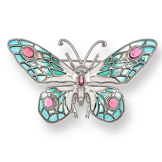 Broszka Motyl
