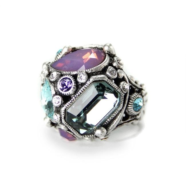 Geometryczny pierścionek