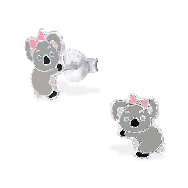 Kolczyki z Misiem Koala