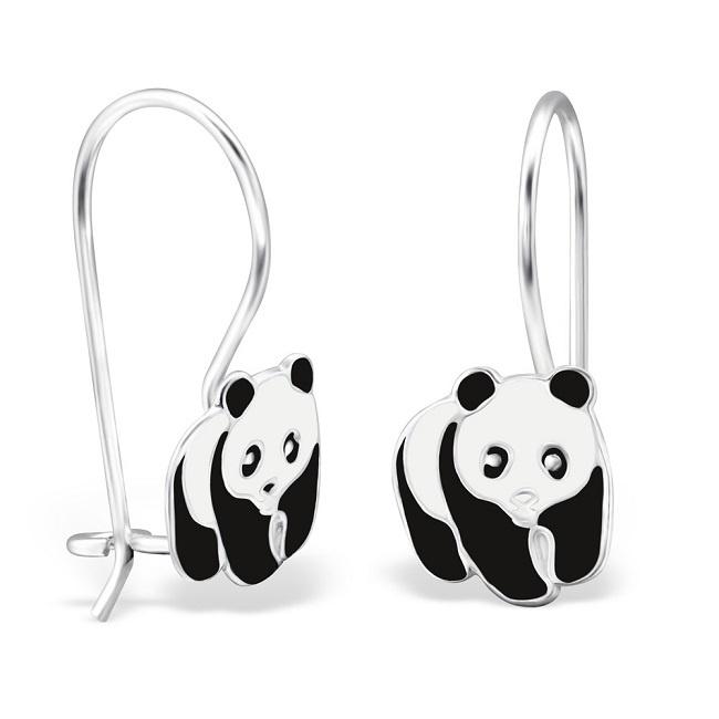 Kolczyki Bigle z Pandami