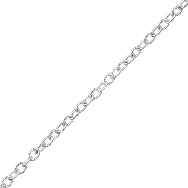 Srebrny Łańcuszek 40cm