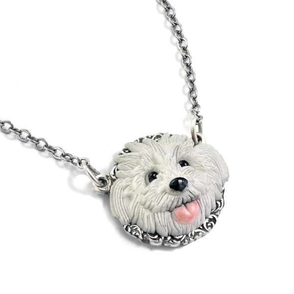 Naszyjnik z Głową Psa