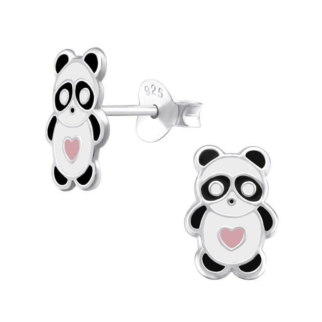 Kolczyki Panda