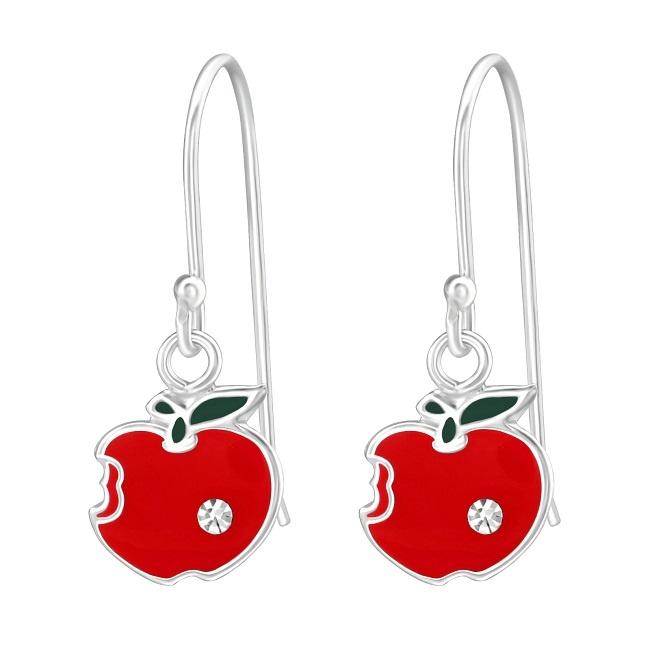 Kolczyki dla Dziewczynki Jabłka