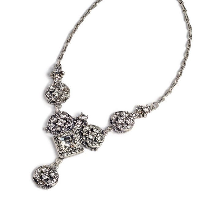 Naszyjnik kryształy Swarovskiego