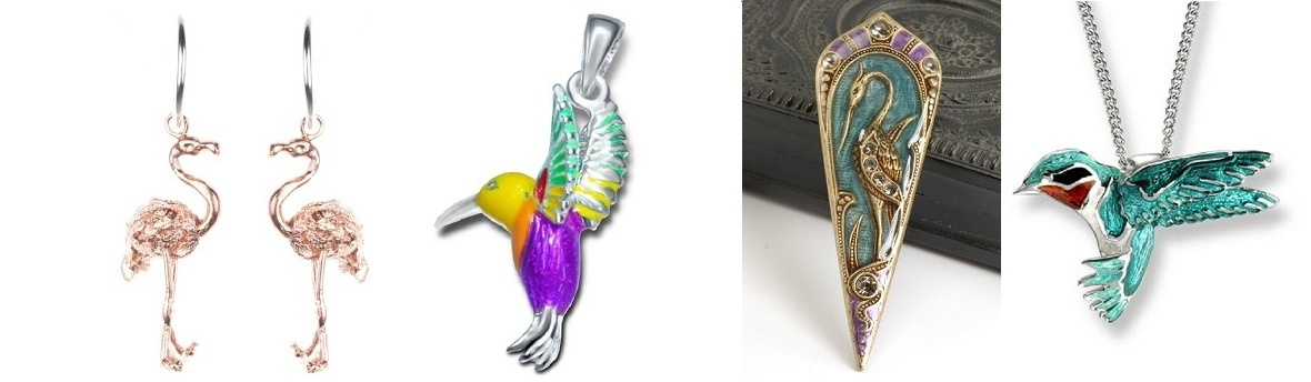 Biżuteria z ptakami