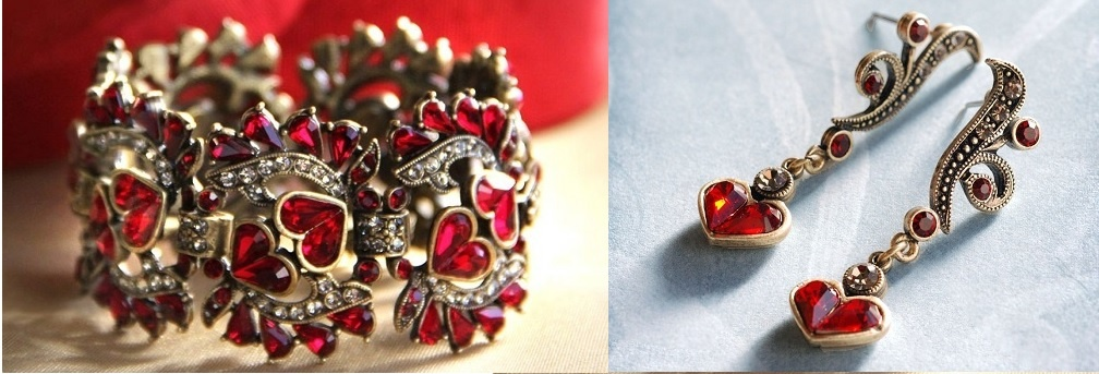 Biżuteria z sercem