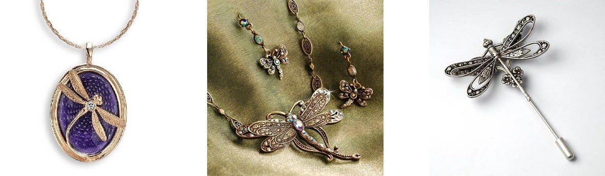 Biżuteria z ważkami