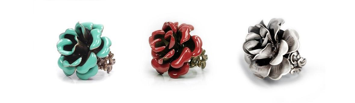 Biżuteria z różą