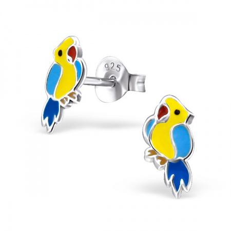 Kolczyki z Papugą