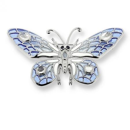 Broszka z Motylem