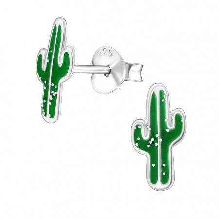 Kolczyki Kaktusy
