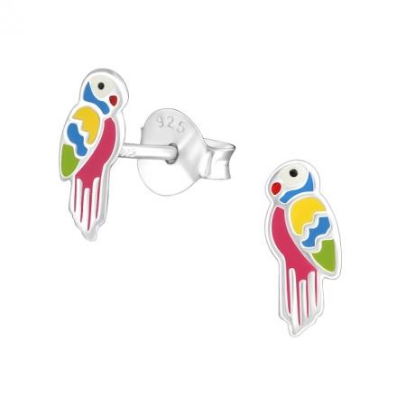 Kolczyki Papuga