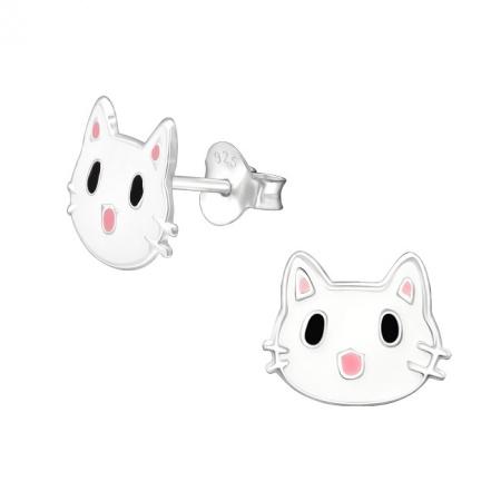 Kolczyki Kot dla Dziewczynki