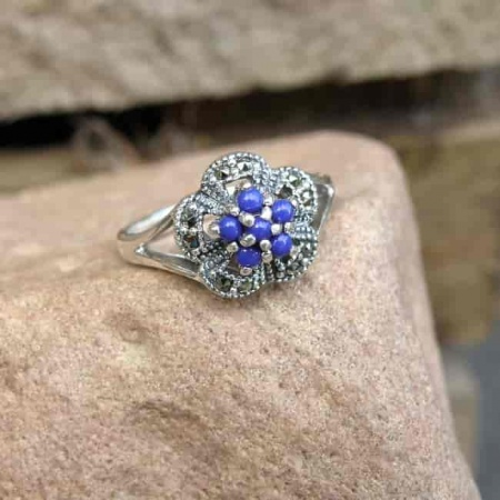 Pierścionek z Lapis Lazuli