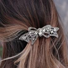 ślubna spinka do włosów