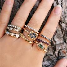 pierścionki na każdy palec