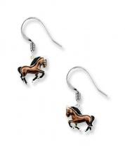 Kolczyki z końmi