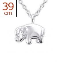 wisiorek ze słoniem