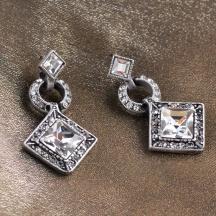 kolczyki kryształy Swarowskiego