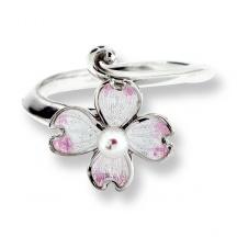 Pierścionek z perłą Kwiat Derenia