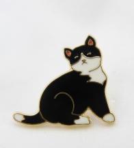 broszka mały kotek