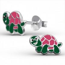 Kolczyki z żółwiem