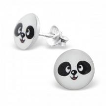 kolczyki z pandą