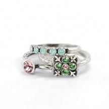 komplet pierścionków serenity 6