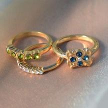 komplet pierścionków Balance 8