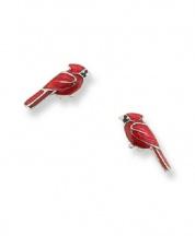 Kolczyki kardynał szkarłatny