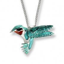 wisiorek z kolibrem