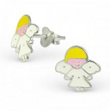 Kolczyki z Aniołkiem