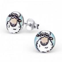Kolczyki z owieczkami