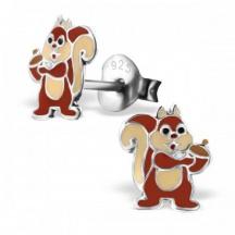 kolczyki wiewiórki