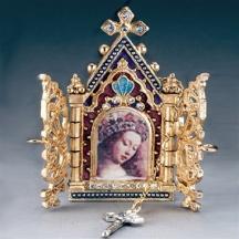 Naszyjnik z Ikoną Matki Bożej