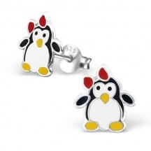 Kolczyki z Pingwinami