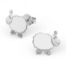 Kolczyki z owieczką