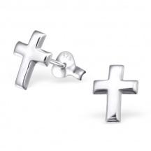 Kolczyki Sztyfty Krzyżyki