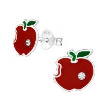 Kolczyki dla Dzieci z Jabłkami