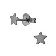 Kolczyki Ciemne gwiazdki