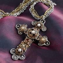 Naszyjnik z Krzyżem Florence
