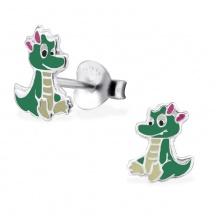 Kolczyki Krokodyl
