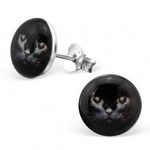 Kolczyki Kot