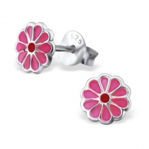 Kolczyki Różowe kwiatki