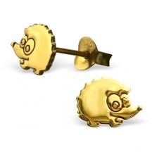 Kolczyki Złote Jeże
