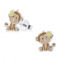 Kolczyki Małpka