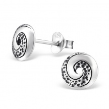 Kolczyki Spiralki