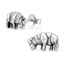 Kolczyki Nosorożec
